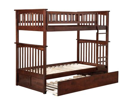 Atlantic Furniture Columbia AB55154 Bed Brown, AB55154 SILO CROP 30