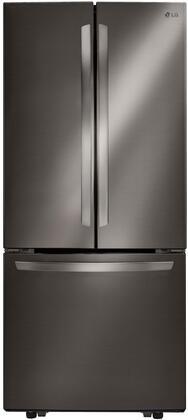 LG  LFCS22520D French Door Refrigerator Black Stainless Steel, LFCS22520D French Door Refrigerator