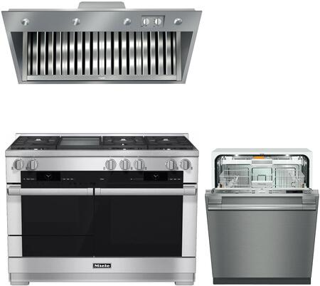 Miele  888262 Kitchen Appliance Package Stainless Steel, main image