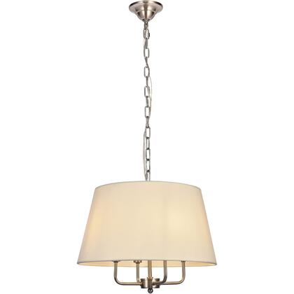 LD6009D17BN Maple 4 Light 17 inch Burnished Nickel Pendant Ceiling