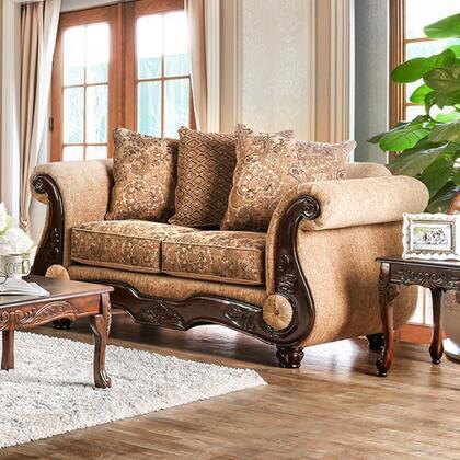 Furniture of America Nicanor SM6407LV Loveseat Multi Colored, Main Image