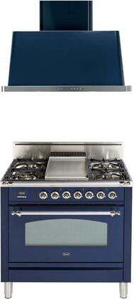 Ilve  1311505 Kitchen Appliance Package Blue, Main Image