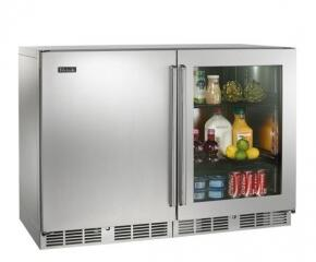 Perlick Signature HP48FRS1L3R Side-By-Side Refrigerator , 1