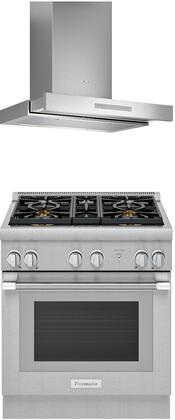 Thermador PRO HARMONY 1311255 Kitchen Appliance Package Stainless Steel, 23