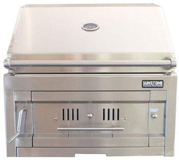 Sunstone  SUNCHDZ28 Charcoal Grill Stainless Steel, Main Image