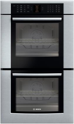 Bosch 800 Series HBL8650UC Double Wall Oven Stainless Steel, 1