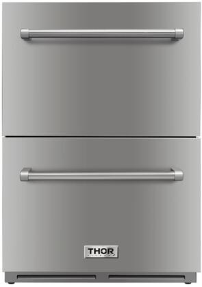 Thor Kitchen TRF2401U Drawer Refrigerator Stainless Steel, TRF2401U Drawer Refrigerator