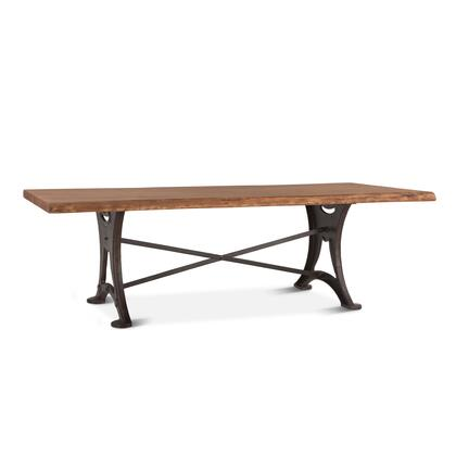 Blayne Collection ZWBADT106R Dining Table in Brown