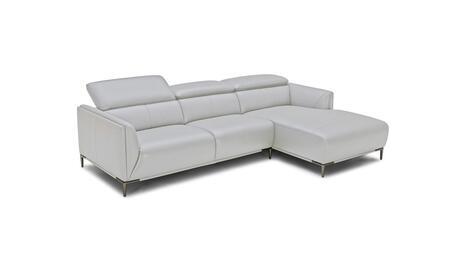 VIG Furniture Divani Casa Belfast VGKK5167BLTGRY Sectional Sofa Gray, Main Image