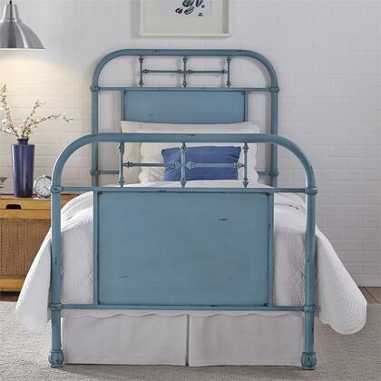 Liberty Furniture Vintage Series 179BR17HFRBL Bed Blue, Main view 1