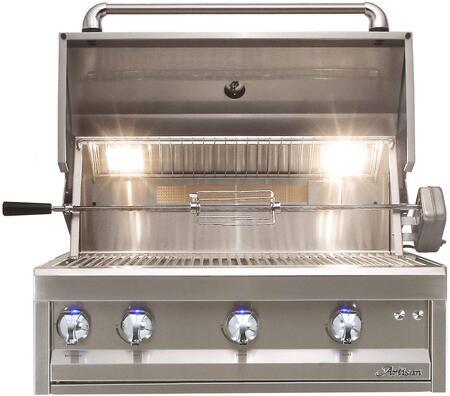 Artisan Professional ARTP32LP Liquid Propane Grill Stainless Steel, Main Image