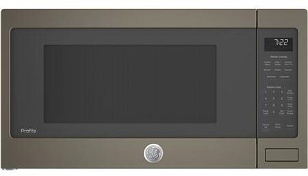 GE Profile PES7227ELES Countertop Microwave Slate, Main View