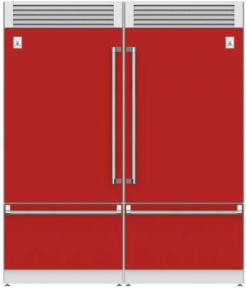 Hestan  915960 Refrigerator Pairs Red, Main Image
