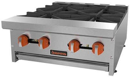 Sierra  SRHP424 Commercial Range Stainless Steel, SRHP424 Countertop Hot Plates