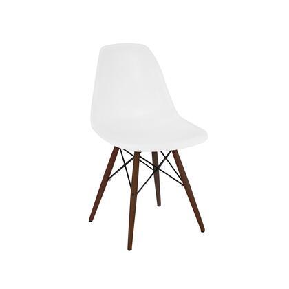 Design Lab MN Trige LS9440WHTWAL Accent Chair White, acf2bc6d 02b5 47ed 9c5d 558ff06f5870