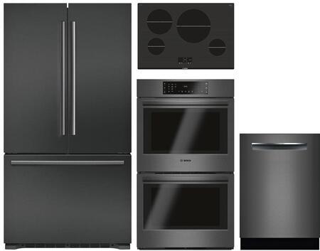 Bosch 980937 Kitchen Appliance Package & Bundle Black Stainless Steel, Main image