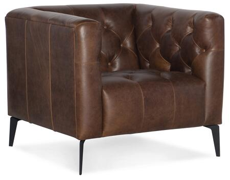 Hooker Furniture SS Series SS63701089 Living Room Chair Brown, Silo Image