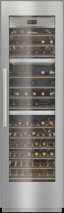 Miele MasterCool KWT2602SF Wine Cooler 76 Bottles and Above Stainless Steel, Main Image