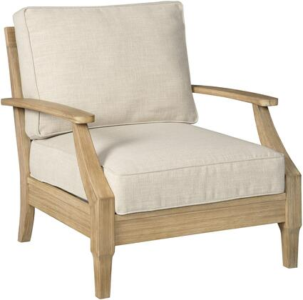 Signature Design by Ashley Clare View P801820 Patio Chair Beige, Main Image