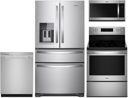 Whirlpool  842384 Kitchen Appliance Package Stainless Steel, Main Image