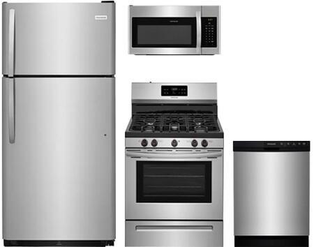 Frigidaire 890832 Kitchen Appliance Package & Bundle Stainless Steel, 18