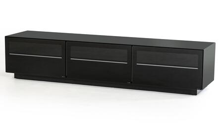 VIG Furniture Modrest Landon VGBBSJ8202BLK 52 in. and Up TV Stand Black, 1