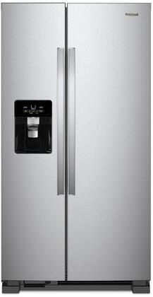 Whirlpool WRS325SDHZ 25 Cu. Ft. Stainless Side-by-Side Refrigerator