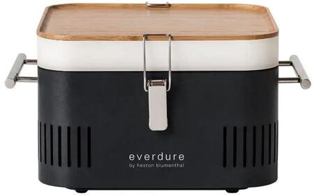 Everdure  HBCUBEGUS Charcoal Grill Black, Main Image