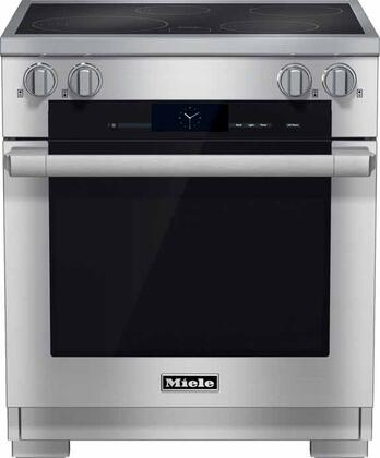 Miele M Touch HR1622I Freestanding Electric Range Stainless Steel, Main View