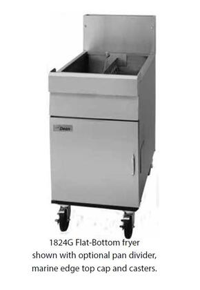Dean  2424GLP Commercial Fryers and Oil Filtration Stainless Steel, Main Image
