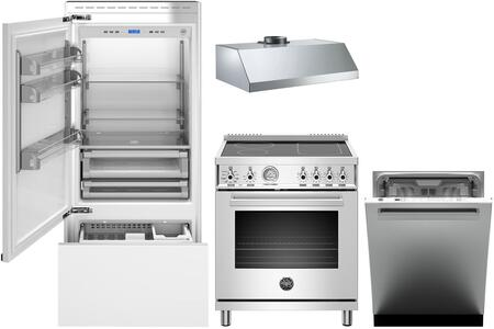 Bertazzoni  1054915 Kitchen Appliance Package Panel Ready, main image