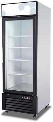 Migali Competitor C23RMHC Display and Merchandising Refrigerator Black, Main Image