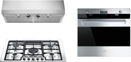 Smeg 1054468 Kitchen Appliance Package & Bundle Stainless Steel, main image