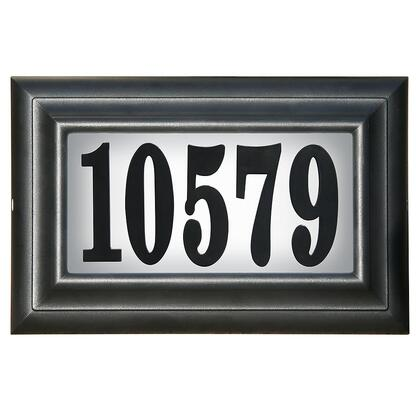Qualarc Edgewood LTP1304LED Address Plaques, LTP 1304 LED