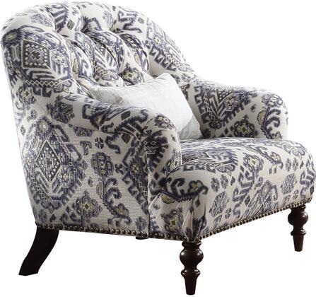 Acme Furniture Saira 52062 Living Room Chair White, 1