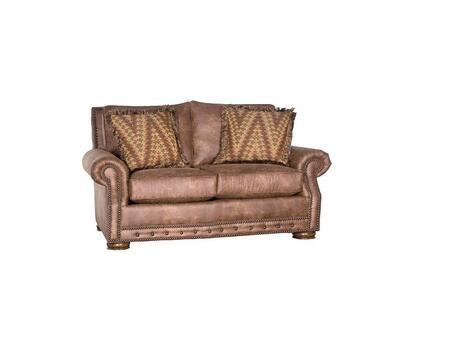 Chelsea Home Furniture Stoughton 392900F30LPCH Loveseat Brown, 392900F30LPCH  Front