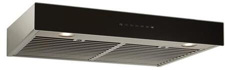 Best  UCB3I36SBB Under Cabinet Hood Stainless Steel, UCB3I36SBB Angled View
