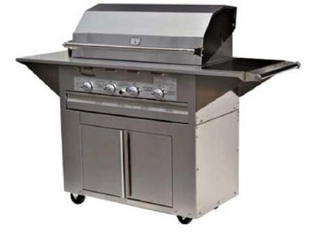 Lazy Man Masterpiece LM21040MCN Natural Gas Grill Stainless Steel, Main Image