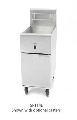 Dean  SR114E2403 Commercial Fryers and Oil Filtration Stainless Steel, Main Image