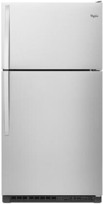 Whirlpool  WRT311FZDM Top Freezer Refrigerator Stainless Steel, Main Image