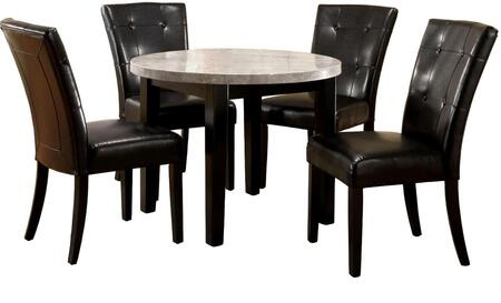 Furniture of America Marion I CM3866RT40 Dining Room Table Brown, Without Chairs