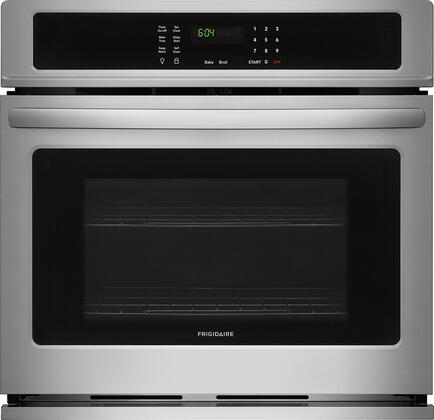 Frigidaire FFEW3026TS 30 Inch 4.6 cu. ft. Total Capacity Electric Single Wall Oven, in Stainless Steel
