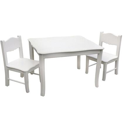 Guidecraft Classic White G85702 Kid Table, 1