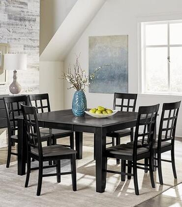 M D811 Dt 6sc 7 Piece Dining Room