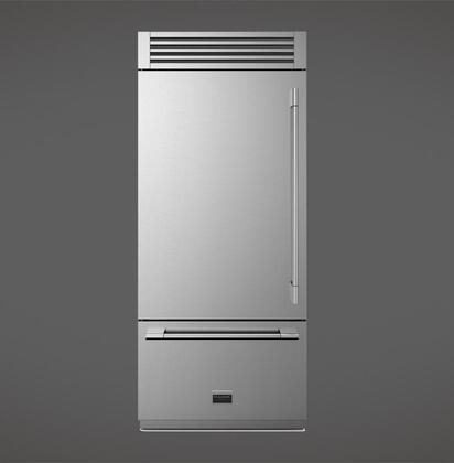 Fulgor Milano Sofia F7PBM36S1L Bottom Freezer Refrigerator Stainless Steel, Main Image