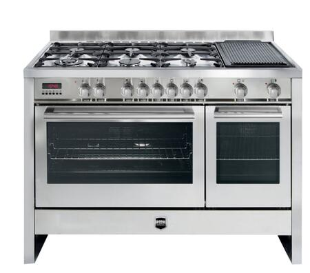 Roma Roma Largo RP48DF1SS Slide-In Dual Fuel Range Stainless Steel, DL ad7343030621b73cea544b37529c