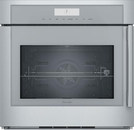 Thermador Masterpiece MED301LWS Single Wall Oven Stainless Steel, 30-Inch Single Built-In Oven with Left Side Opening Door