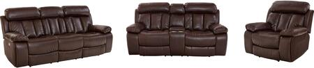 Standard Furniture Bowmen 4207591631931 Living Room Set Brown, Main Image