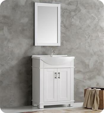 Fresca Hartford FCB2303WHI Sink Vanity White, FCB2303WH I 2T