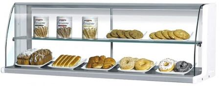 Turbo Air TOMD75HW Commercial Food Display and Merchandising Parts and Acc White, TOMD75HW Top Case